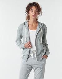 Oblečenie Ženy Mikiny Nike W NSW GYM VNTG HOODIE FZ Šedá