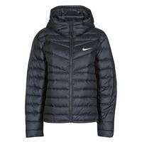 Oblečenie Ženy Vyteplené bundy Nike W NSW WR LT WT DWN JKT Čierna