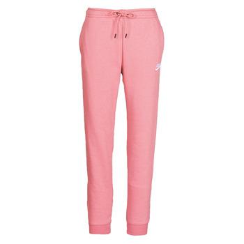 Oblečenie Ženy Tepláky a vrchné oblečenie Nike W NSW ESSNTL PANT REG FLC Ružová