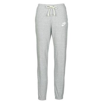 Oblečenie Ženy Tepláky a vrchné oblečenie Nike W NSW GYM VNTG PANT Šedá