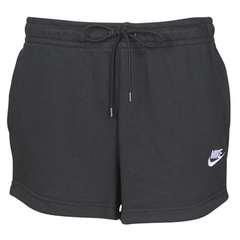 Oblečenie Ženy Šortky a bermudy Nike W NSW ESSNTL SHORT FT Čierna