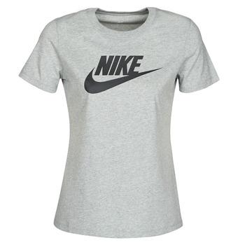 Oblečenie Ženy Tričká s krátkym rukávom Nike W NSW TEE ESSNTL ICON FUTUR Šedá