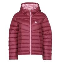 Oblečenie Ženy Vyteplené bundy Nike W NSW WR LT WT DWN JKT Bordová