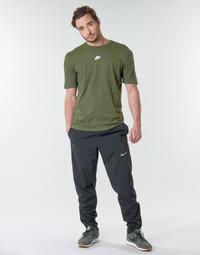 Oblečenie Muži Tepláky a vrchné oblečenie Nike M NK RUN STRIPE WOVEN PANT Čierna
