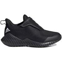 Topánky Deti Bežecká a trailová obuv adidas Originals Fortarun AC K Čierna