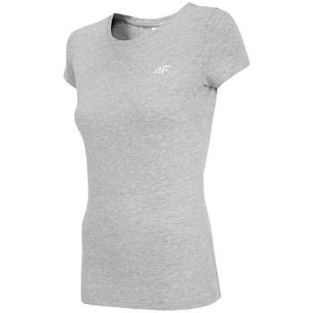 Oblečenie Ženy Tričká s krátkym rukávom 4F TSD001 Sivá