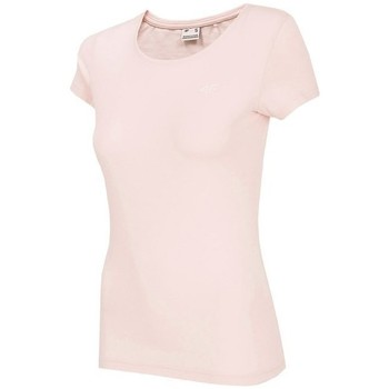 Oblečenie Ženy Tričká s krátkym rukávom 4F TSD001 Ružová