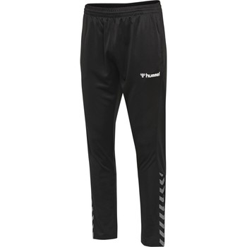 Oblečenie Tepláky a vrchné oblečenie Hummel Pantalon  hmlAUTHENTIC Poly noir/blanc