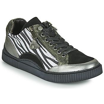 Topánky Ženy Nízke tenisky Regard IDEM V5 CRIS ACERO Čierna
