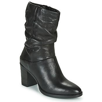 Topánky Ženy Čižmy do mesta Dream in Green NORGE Čierna
