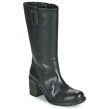 Topánky Ženy Čižmy do mesta Dream in Green NISCUIT Čierna