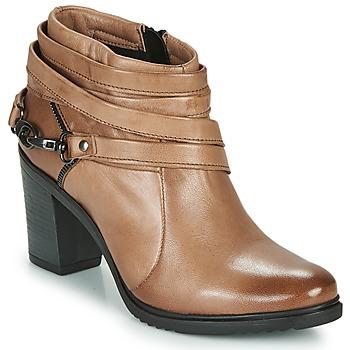 Topánky Ženy Nízke čižmy Dream in Green NEGUS Hnedá