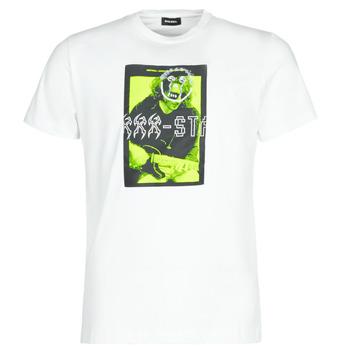 Oblečenie Muži Tričká s krátkym rukávom Diesel T-DIEGO J1 Biela