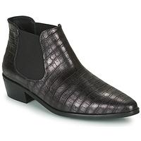 Topánky Ženy Polokozačky Fericelli NANARUM Čierna / Strieborná
