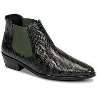 Topánky Ženy Polokozačky Fericelli NANARUM Čierna / Zelená