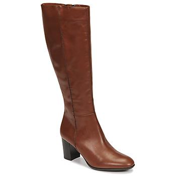 Topánky Ženy Čižmy do mesta Fericelli NAVAROIS Ťavia hnedá