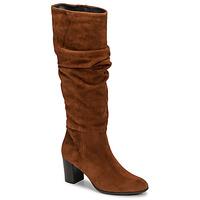 Topánky Ženy Čižmy do mesta Fericelli NEIGNET Ťavia hnedá