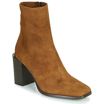 Topánky Ženy Čižmičky Fericelli NRETZEL Ťavia hnedá