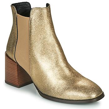 Topánky Ženy Čižmičky Fericelli NIOCHE Zlatá