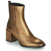 Topánky Ženy Čižmičky Fericelli NAKE Zlatá