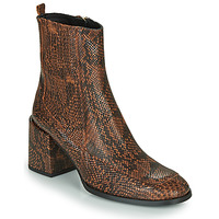 Topánky Ženy Čižmičky Fericelli NAKE Čierna / Hnedá