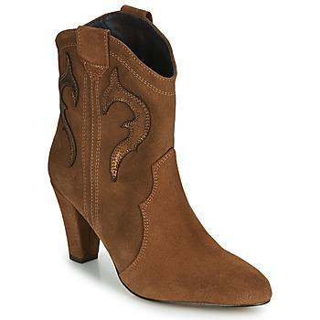 Topánky Ženy Čižmičky Fericelli NARLOTTE Ťavia hnedá / Zlatá