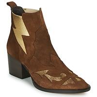 Topánky Ženy Čižmičky Fericelli NAUSSON Béžová / Zlatá