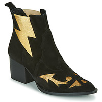 Topánky Ženy Čižmičky Fericelli NAUSSON Čierna / Zlatá