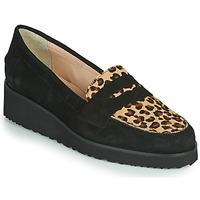 Topánky Ženy Mokasíny Fericelli NECLAIR Čierna / Animal