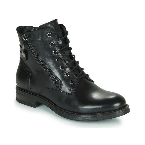 Topánky Ženy Polokozačky Casual Attitude NUNAISE Čierna