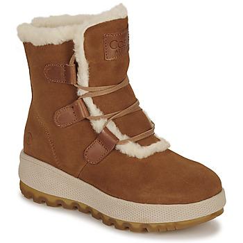 Topánky Ženy Polokozačky Casual Attitude NAREIGNE Ťavia hnedá