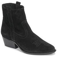 Topánky Ženy Čižmičky Casual Attitude NAUTERELLE Čierna
