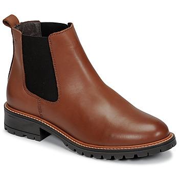 Topánky Ženy Polokozačky Casual Attitude NRIQUET Ťavia hnedá
