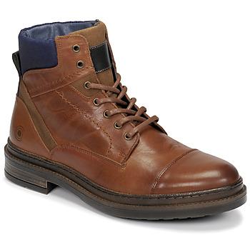 Topánky Muži Polokozačky Casual Attitude NYSOPE Ťavia hnedá