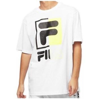 Oblečenie Muži Tričká s krátkym rukávom Fila Men Saku Tee Biela