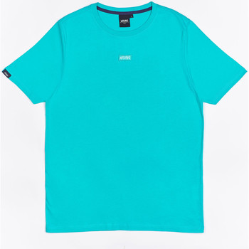 Oblečenie Chlapci Tričká s krátkym rukávom Wrung T-shirt  Caution Reload bleu turquoise/bleu