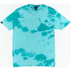 Oblečenie Chlapci Tričká s krátkym rukávom Wrung T-shirt  New Sign bleu turquoise/blanc/noir