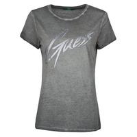 Oblečenie Ženy Tričká s krátkym rukávom Guess SS CN IVONNE TEE Čierna