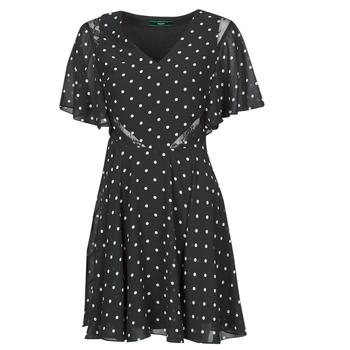 Oblečenie Ženy Krátke šaty Guess ELLA DRESS Čierna / Biela