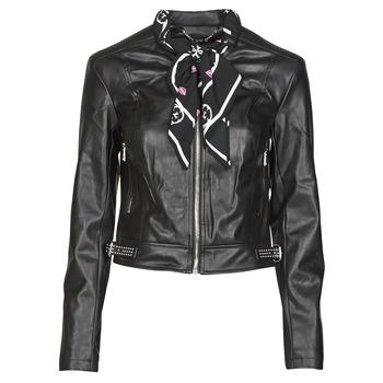 Oblečenie Ženy Kožené bundy a syntetické bundy Guess NEW JONE JACKET Čierna
