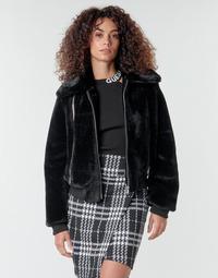Oblečenie Ženy Bundy  Guess MIRIAM Čierna