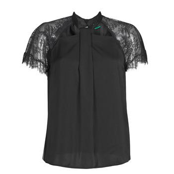 Oblečenie Ženy Blúzky Guess GERDA Čierna