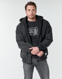 Oblečenie Muži Bundy  Guess NAUGHTY BOMBER Čierna