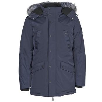 Oblečenie Muži Parky Guess COOL WINTER Námornícka modrá