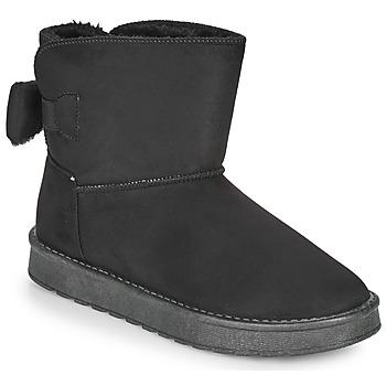 Topánky Ženy Polokozačky Moony Mood NOWER Čierna