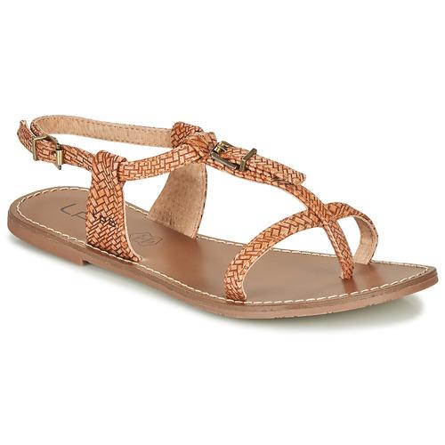 Topánky Ženy Sandále Les Petites Bombes ZHOEF Ťavia hnedá