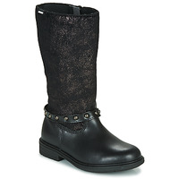 Topánky Dievčatá Čižmy do mesta Pablosky 488012 Čierna