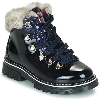 Topánky Dievčatá Polokozačky Pablosky 489629-J Modrá