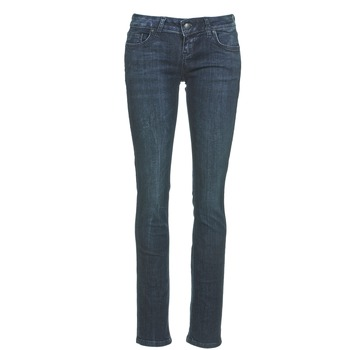 Oblečenie Ženy Rovné džínsy LTB ASPEN Modrá / Dark