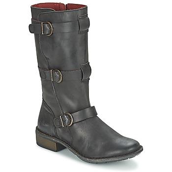 Topánky Ženy Čižmy do mesta Kickers GROWUP čierna